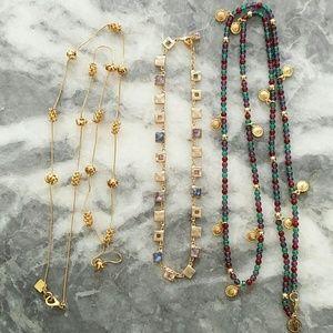 Like new vintage Anne Klein necklaces